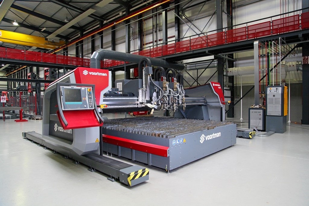 Voortman V304 | Plate cutting, plasma cutting, oxy-fuel cutting